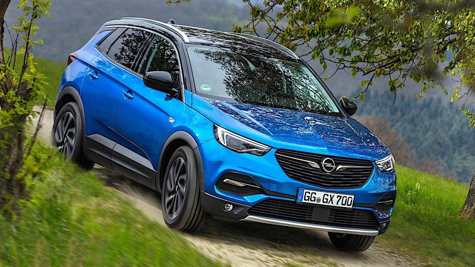 New 2019 Opel Grandland X Wallpaper HD Desktop