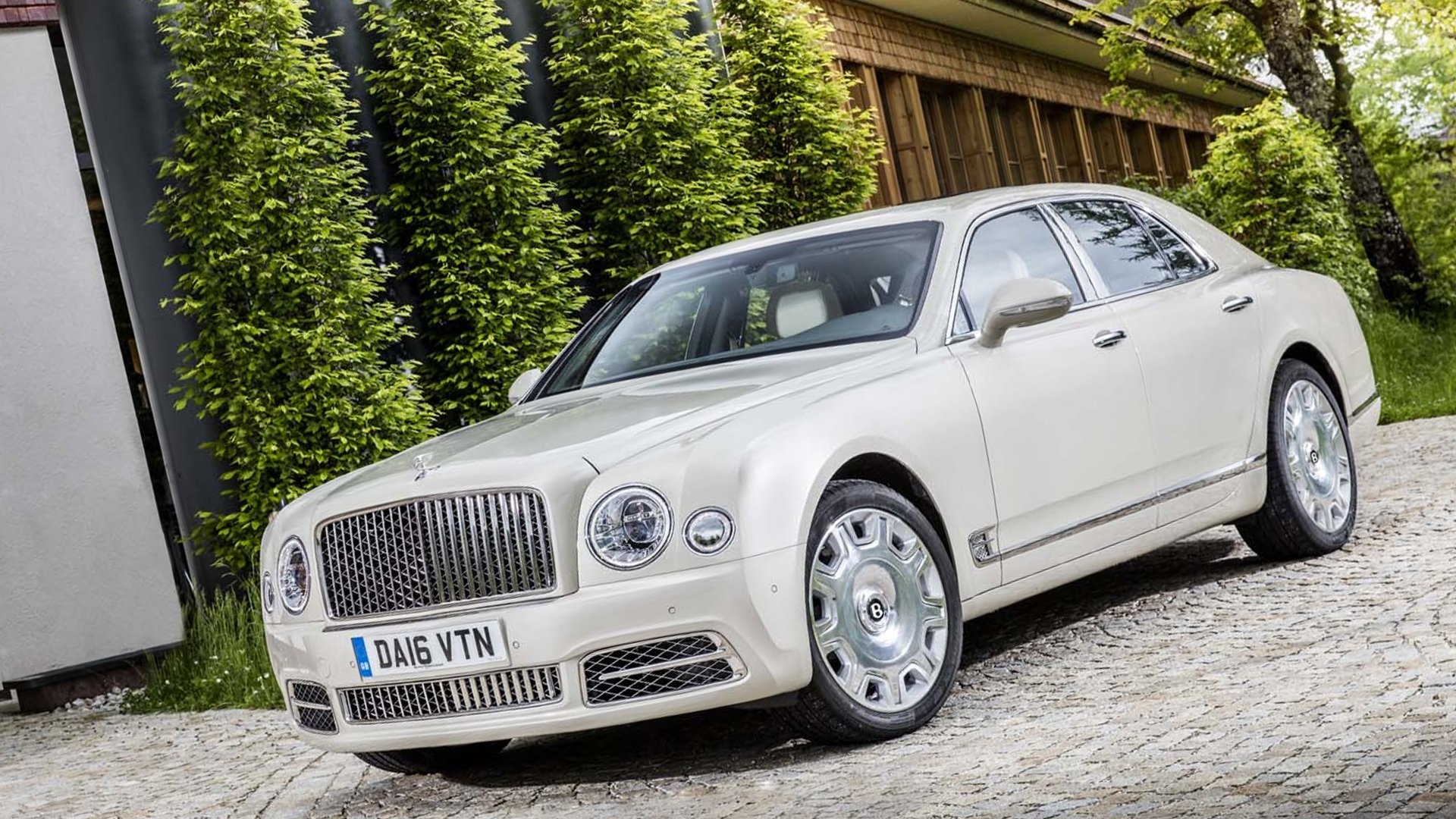 Bentley Mulsanne 2018 White Full HD