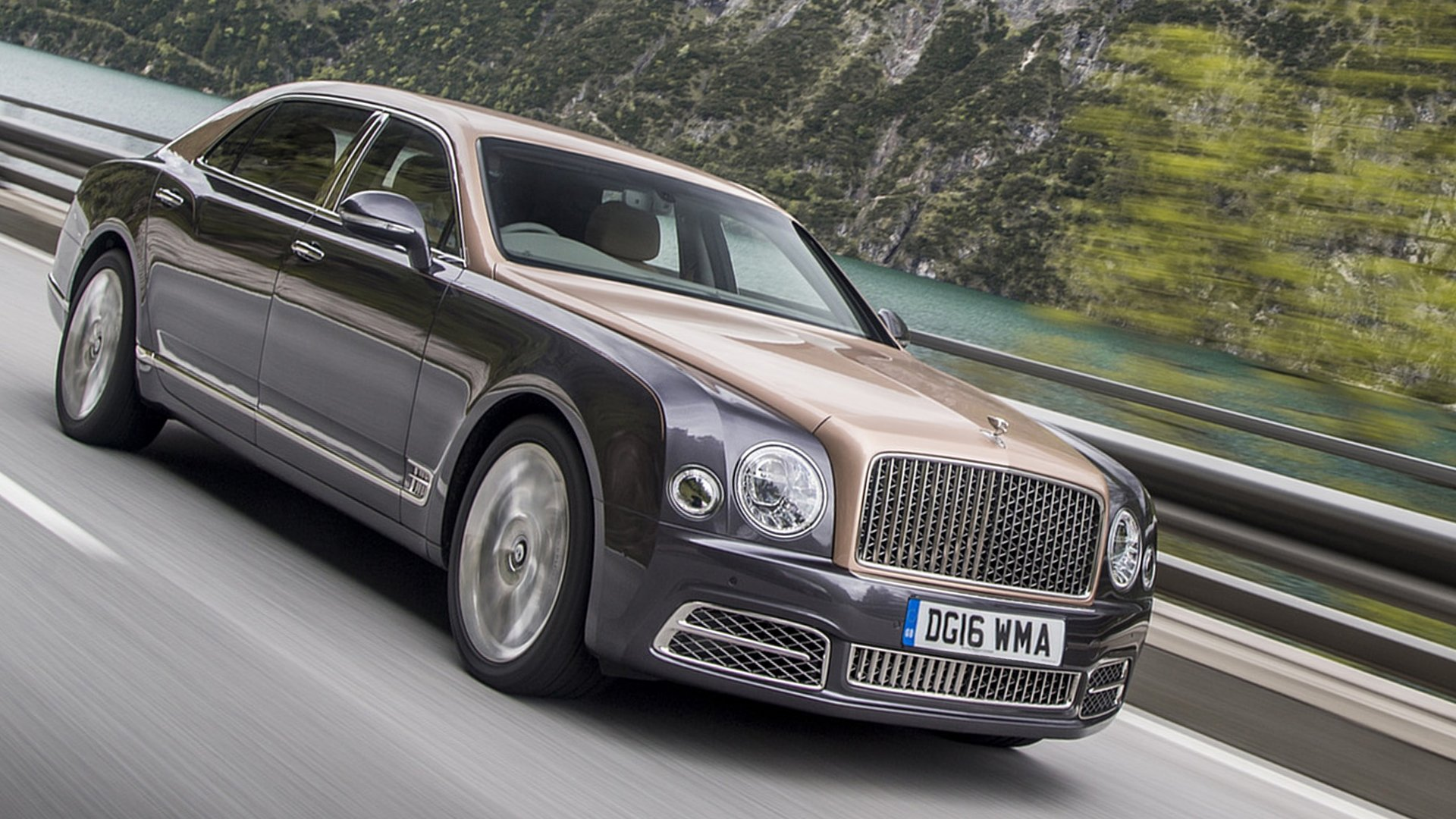 Bentley Mulsanne USA Market Full HD