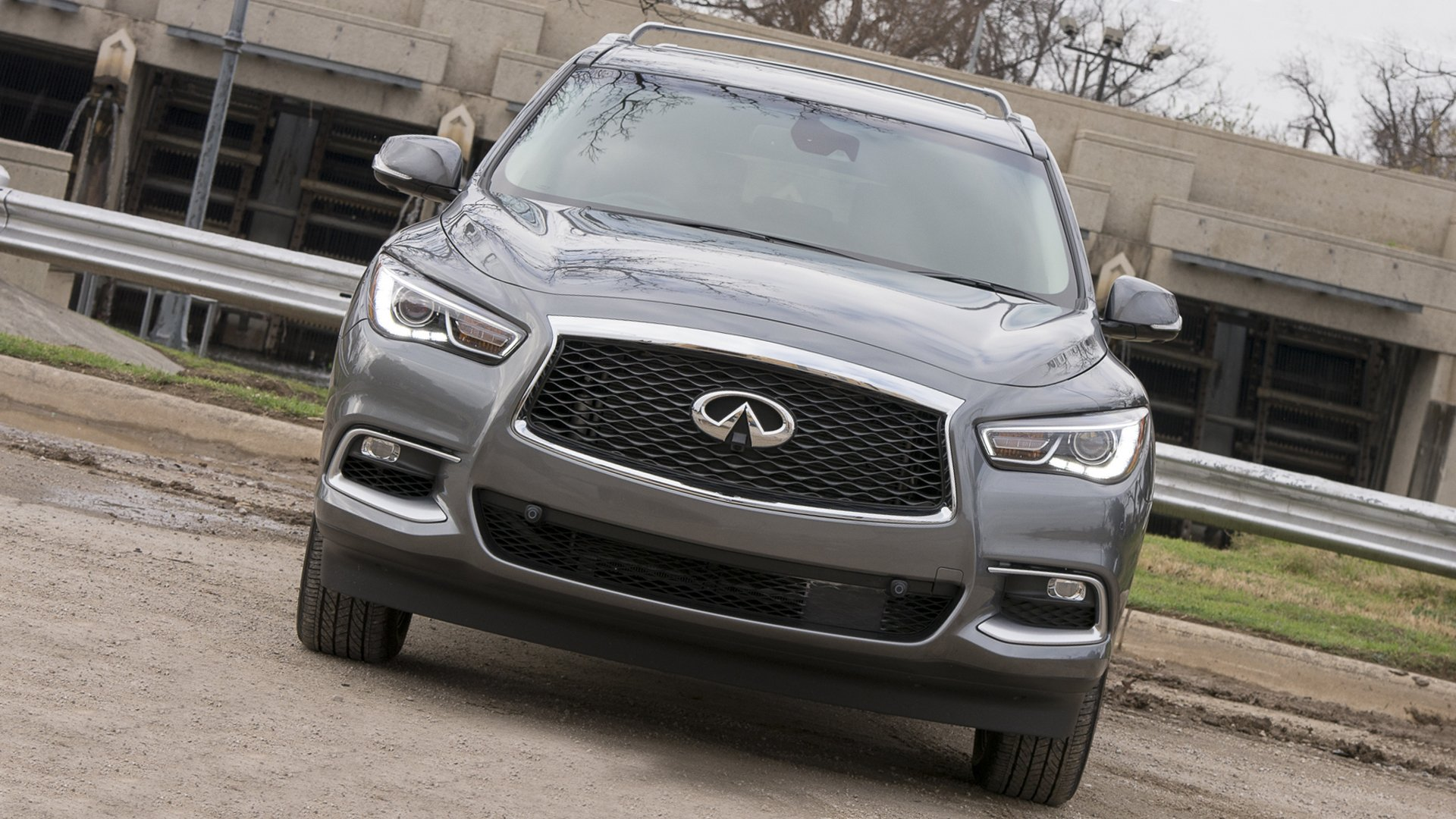 Infiniti QX60 2018 Front View HD