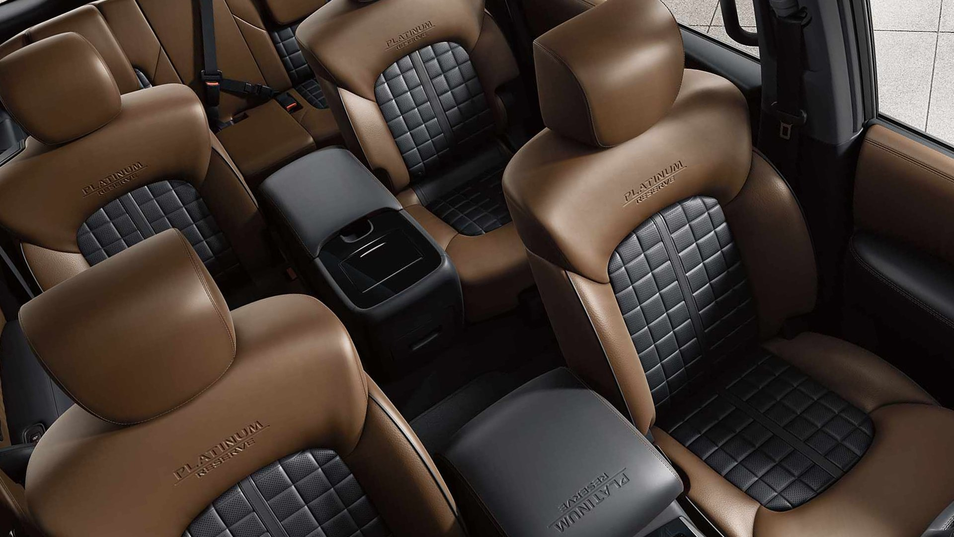 Interior Model Nissan Armada 2019 HD