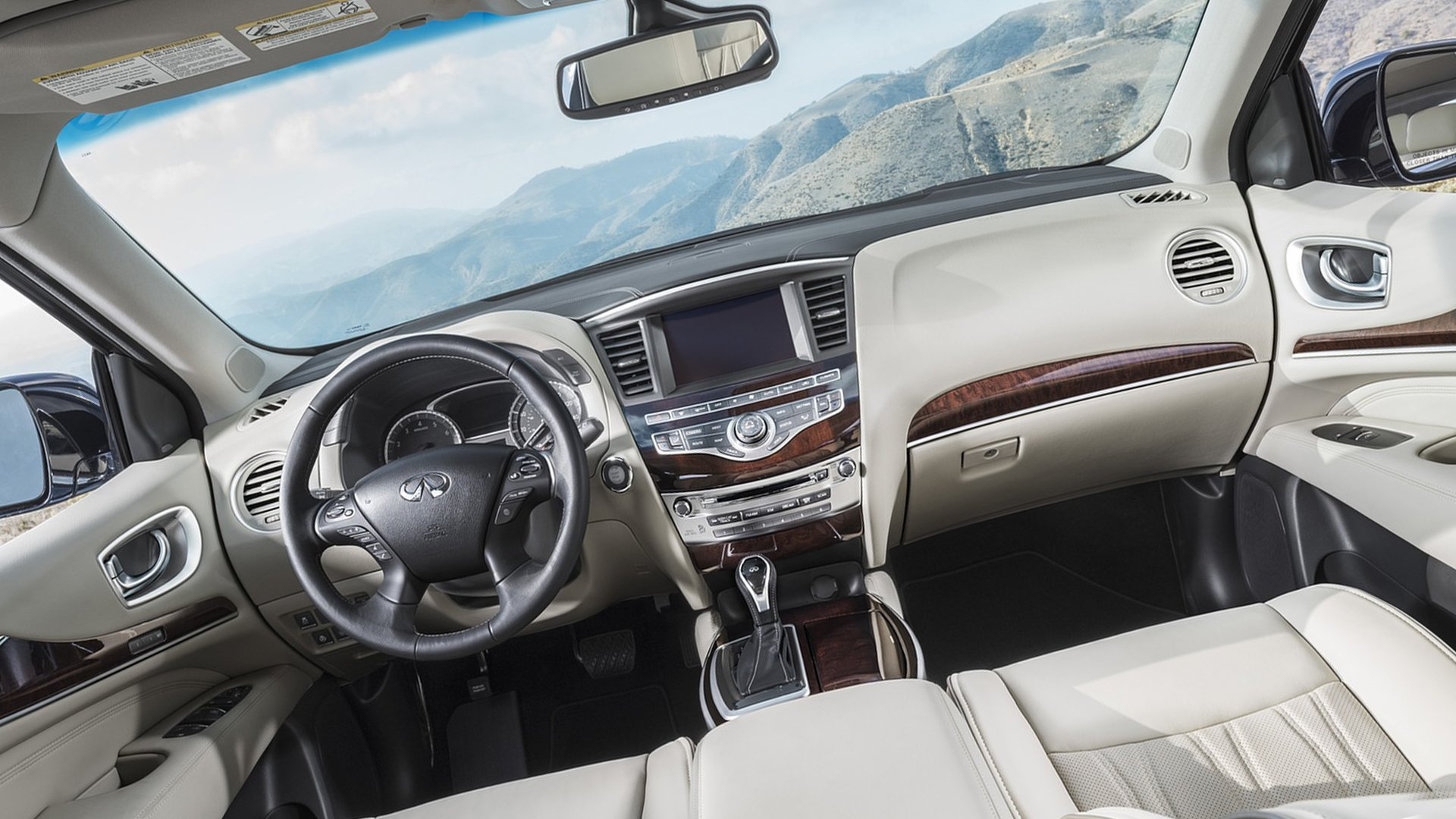 Interior New 2019 Infiniti QX60 HD