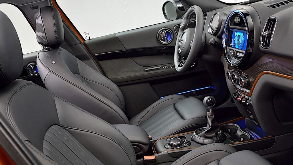 New MINI Countryman Interior Photos HD