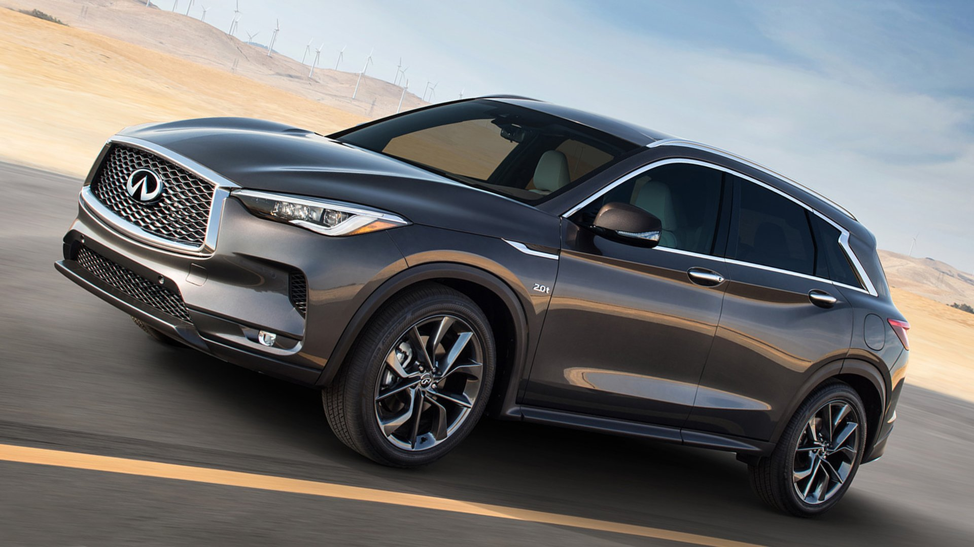 Side View Infiniti QX50 2019 HD