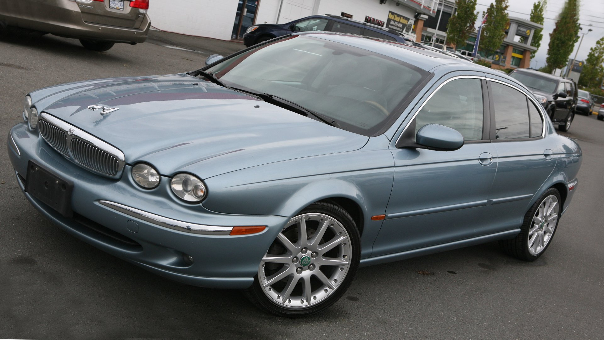 Side View Jaguar X-Type HD