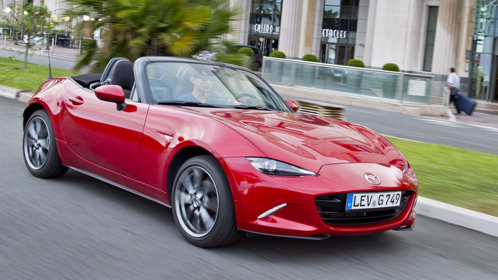 V8 version 2019 Mazda MX-5 HD