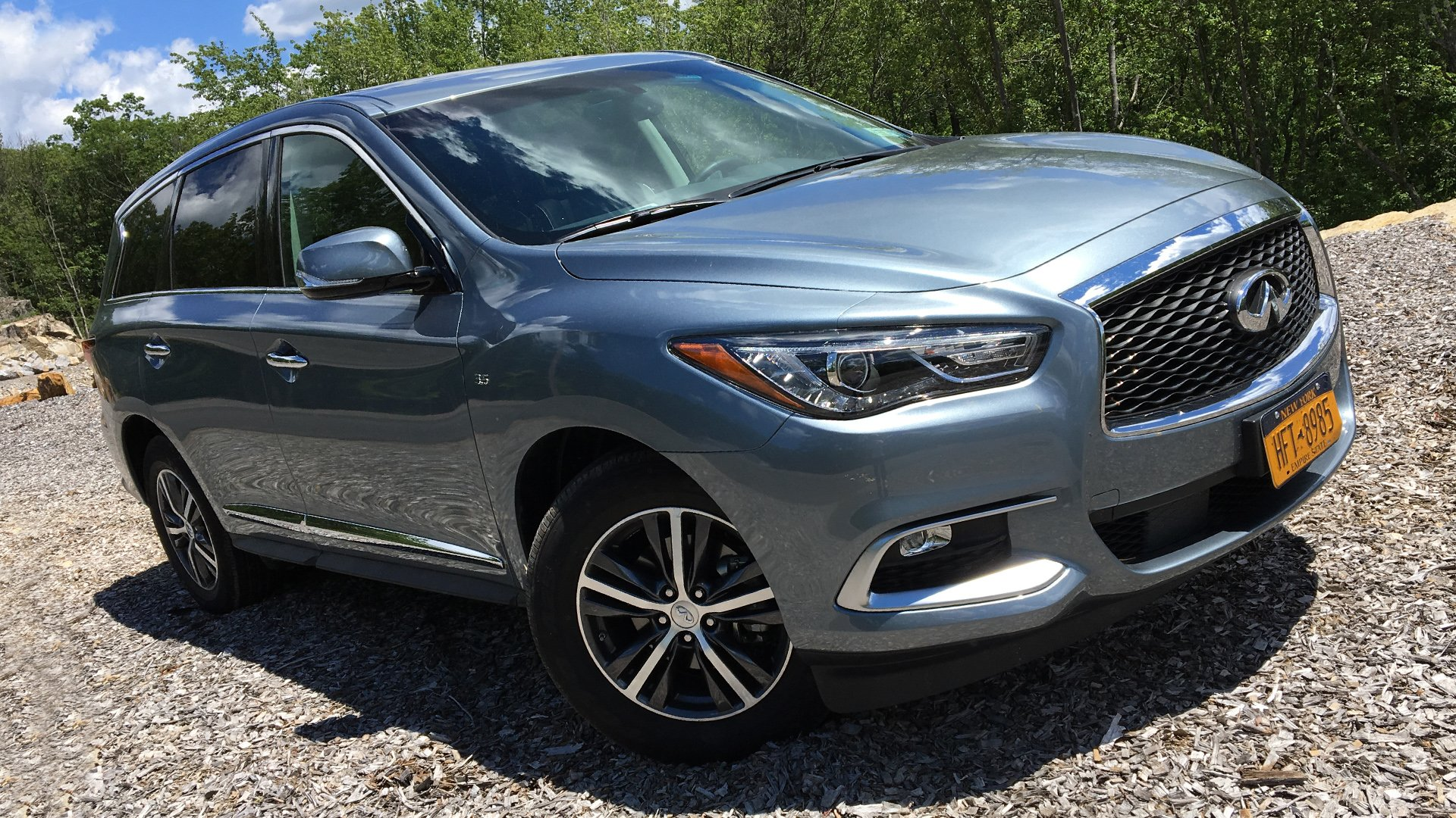 Wallpaper Andriod iPhone Infiniti QX60 New HD