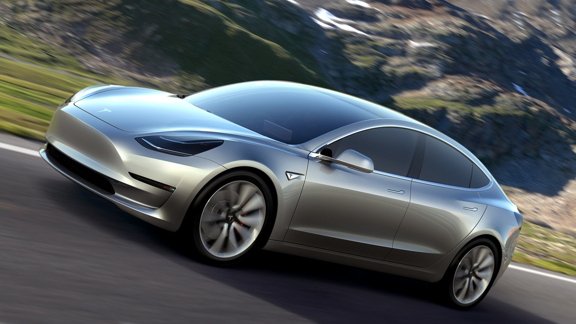 Images Tesla Model 3 HD