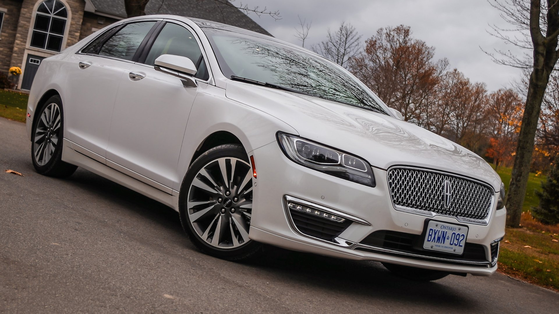 Lincoln MKZ 2018 White HD
