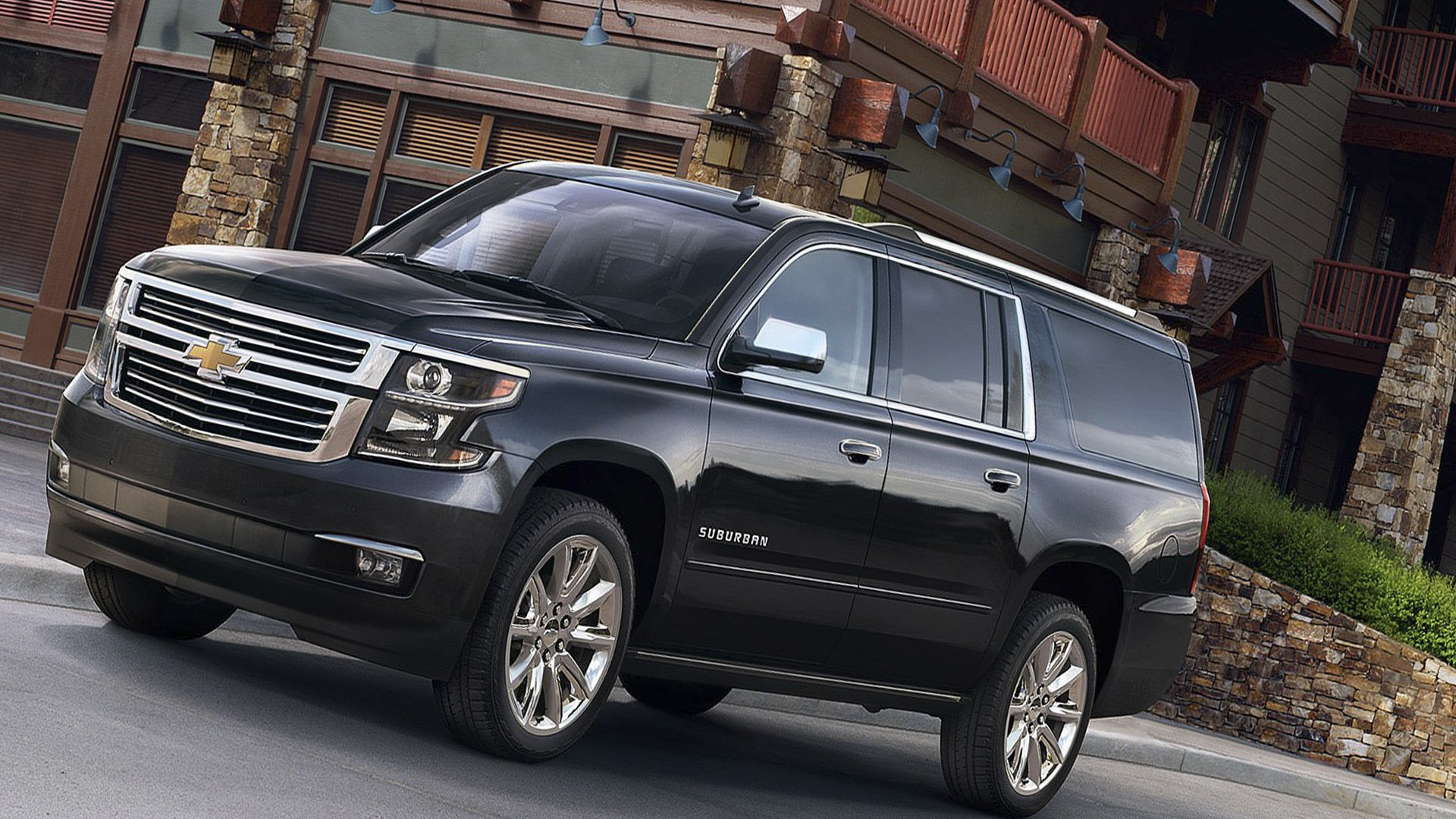 New 2019 Chevrolet Suburban Wallpaper HD Desktop