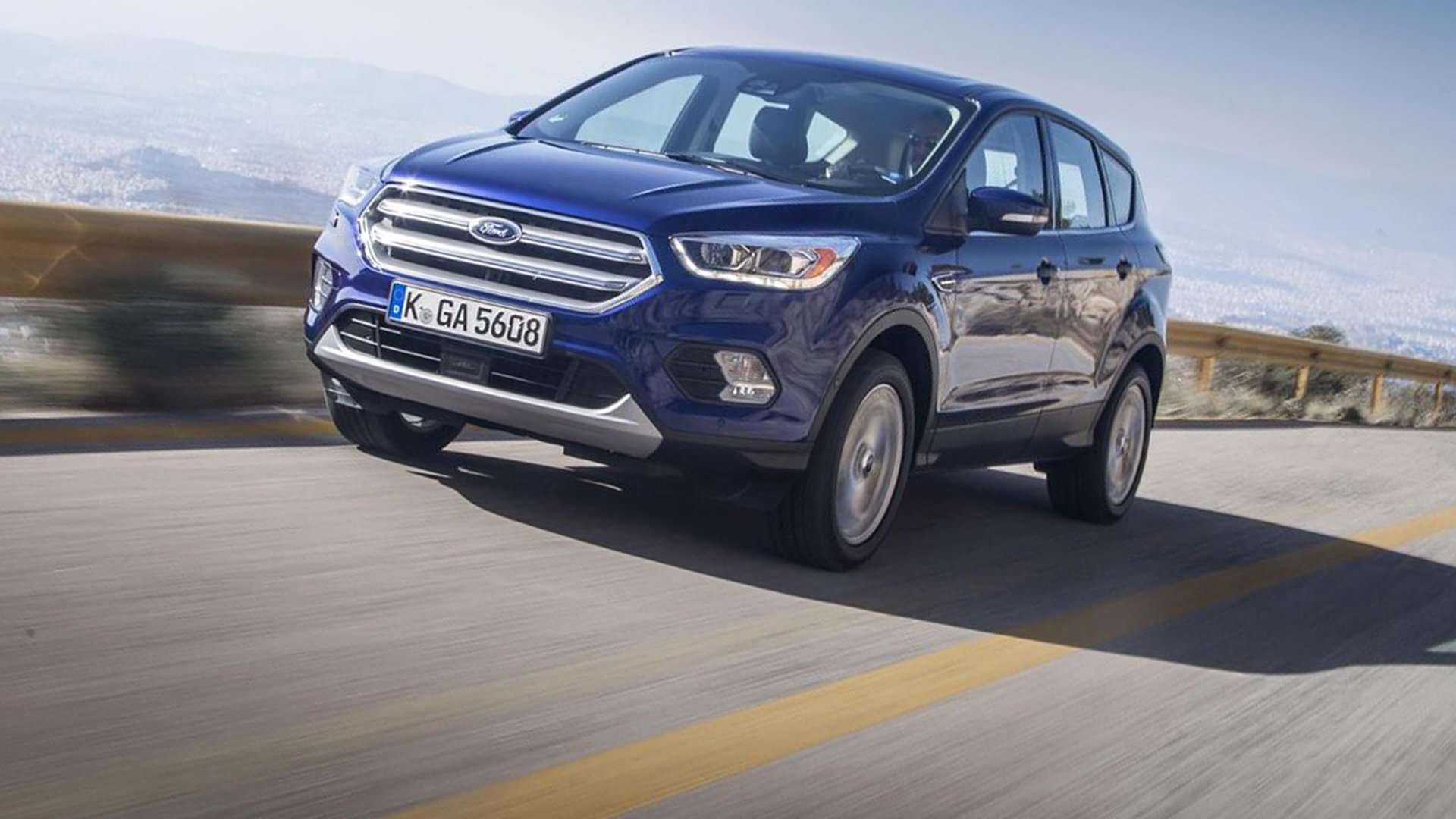 New 2019 Ford Kuga First Pictures