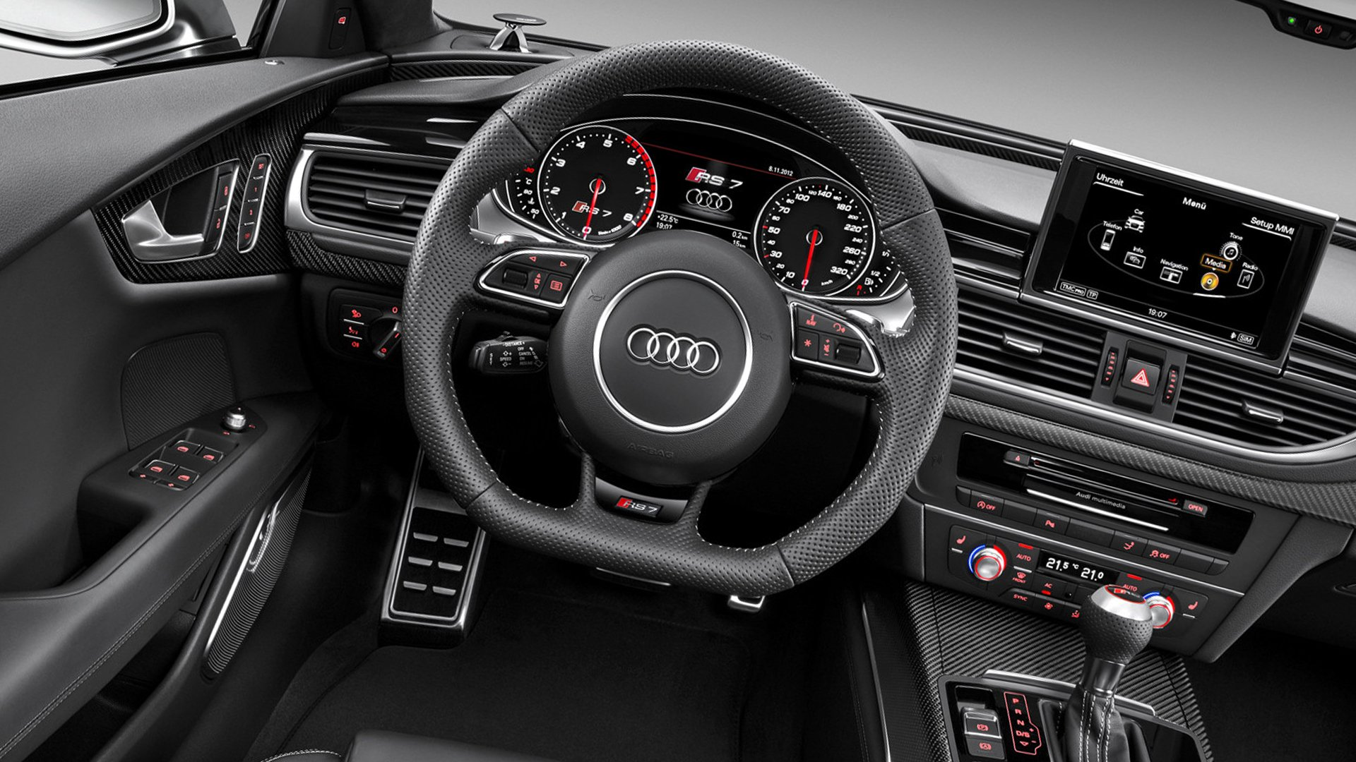 Dashboard Audi RS7 HD