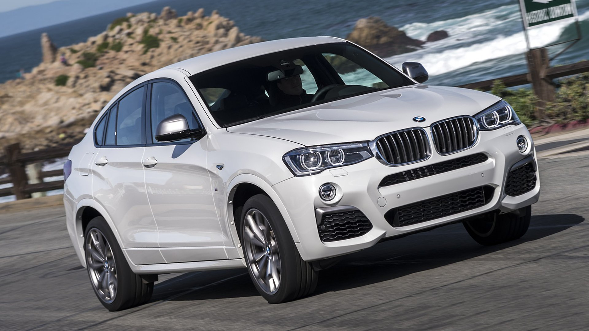 Turbo Diesel BMW X4 M40i 2019 Full HD