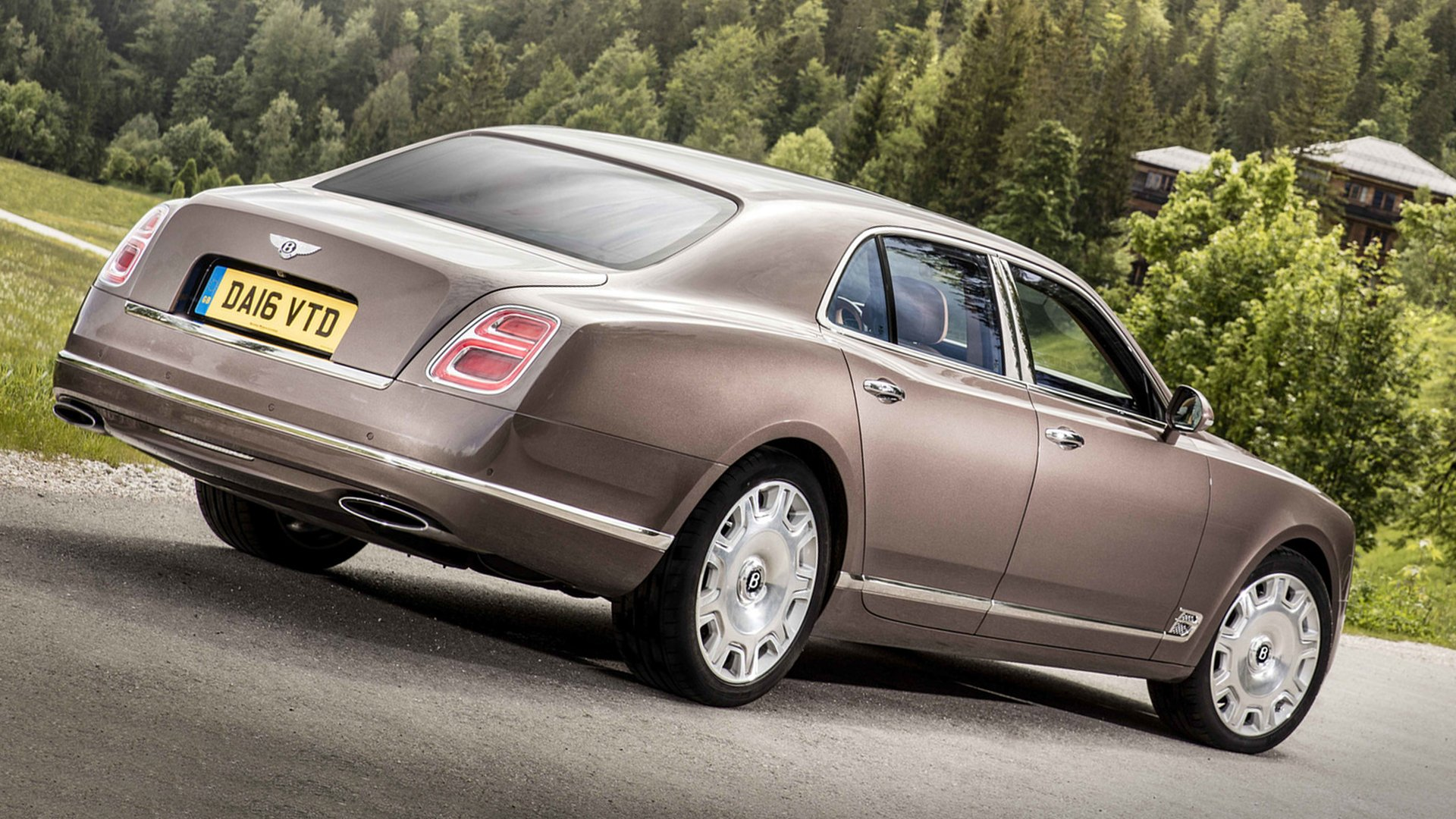 2018 Bentley Mulsanne Images Full HD