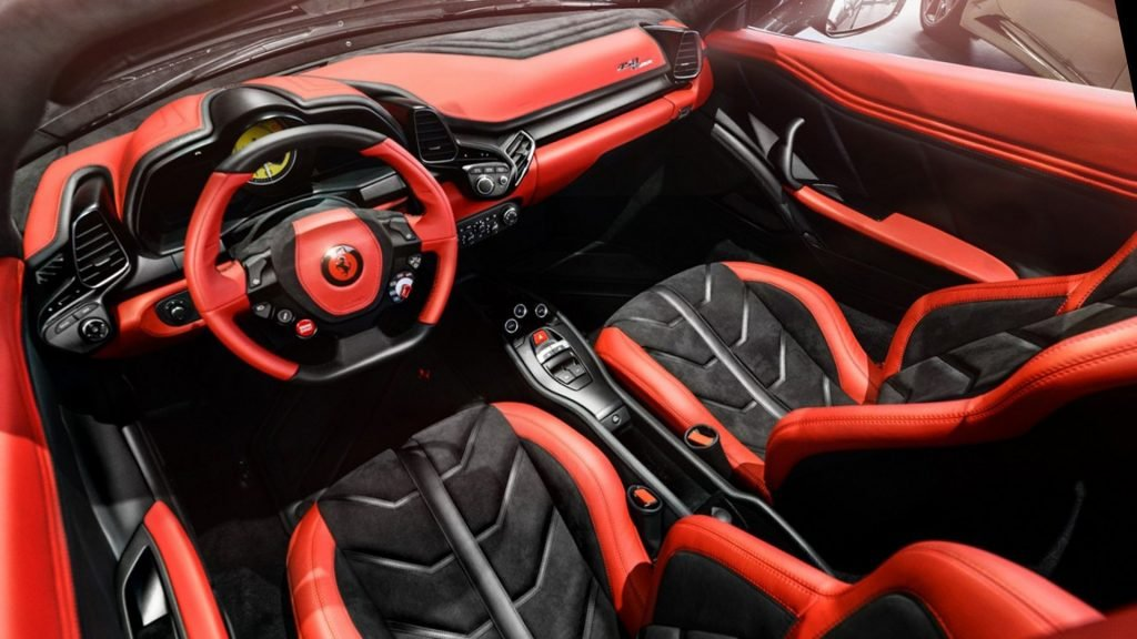 New 2019 Ferrari 458 Speciale A Interior Design