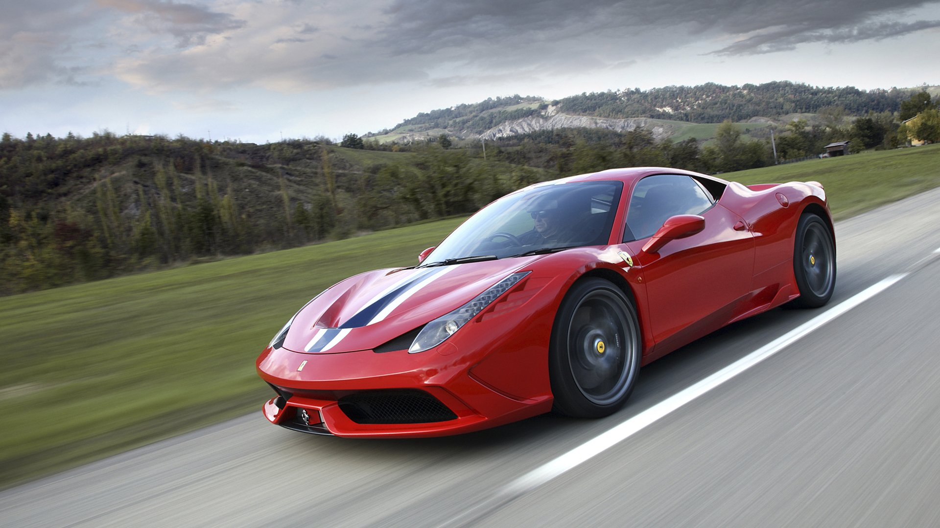 New 2019 Ferrari 458 Speciale A Wallpaper HD Desktop