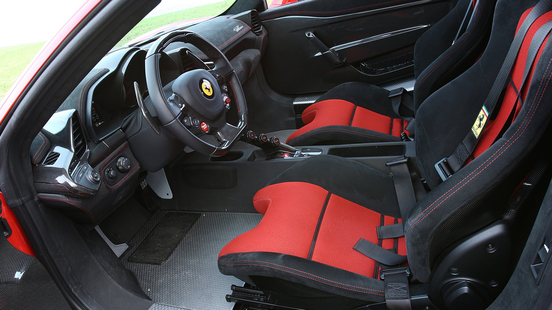 New 2019 Ferrari 458 Speciale Interior Design