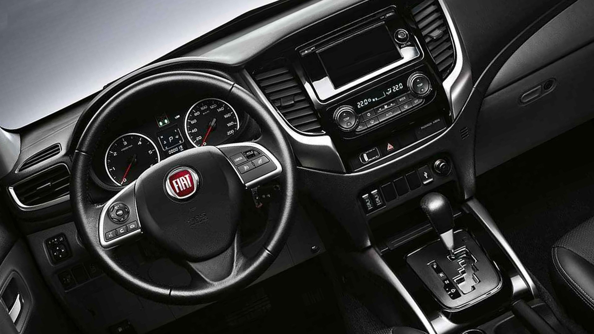 New 2019 Fiat Fullback Interior Design