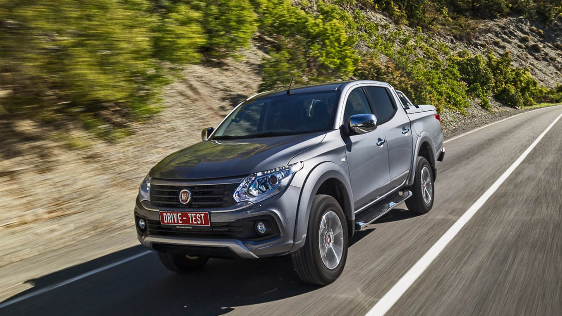 New 2019 Fiat Fullback Test Drive On Road