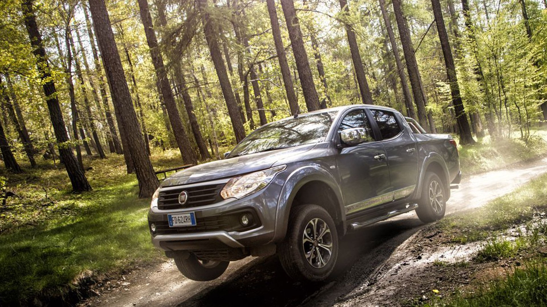New 2019 Fiat Fullback Wallpaper HD Desktop