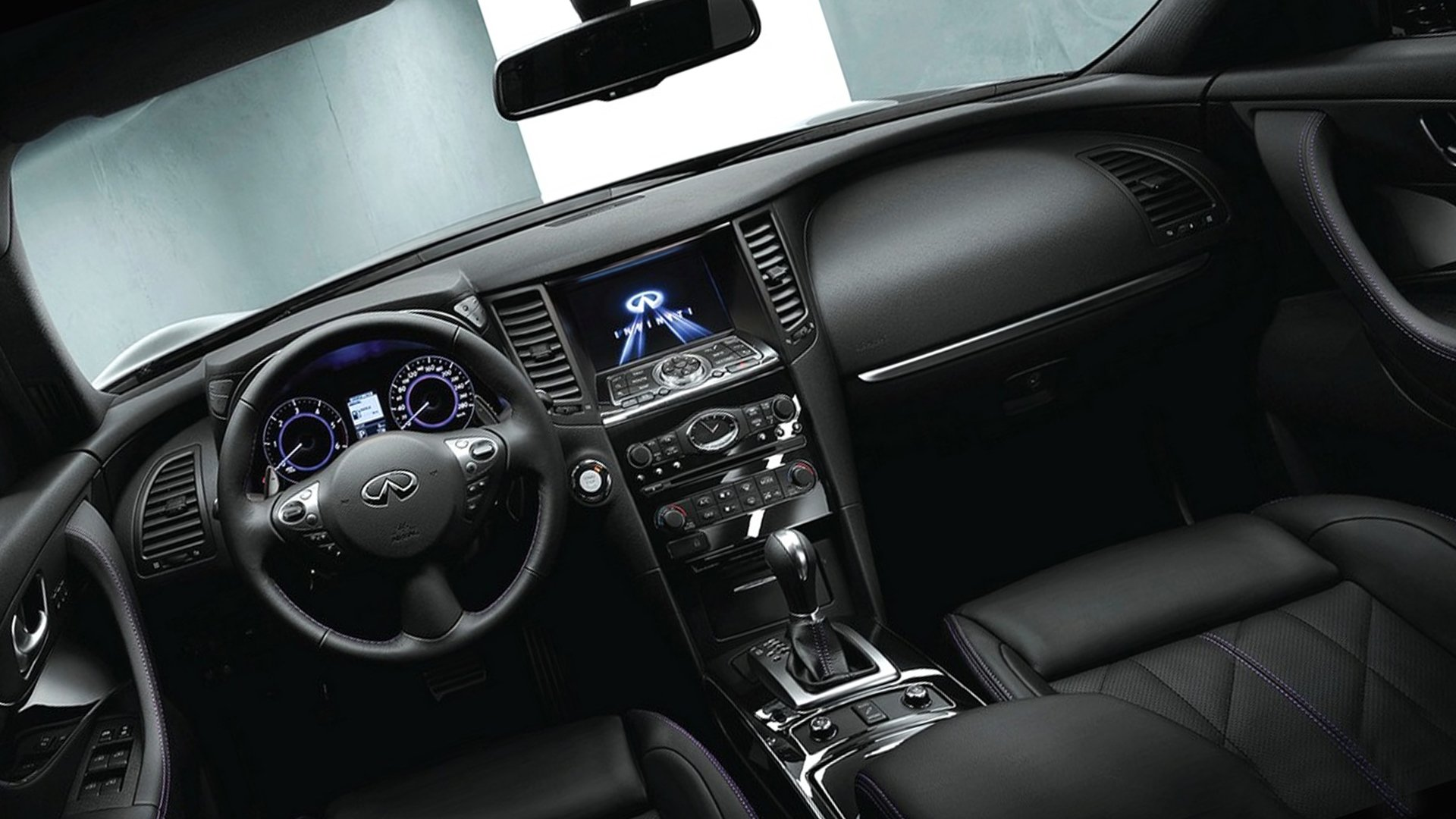 New 2019 Infiniti QX70 Interior Design