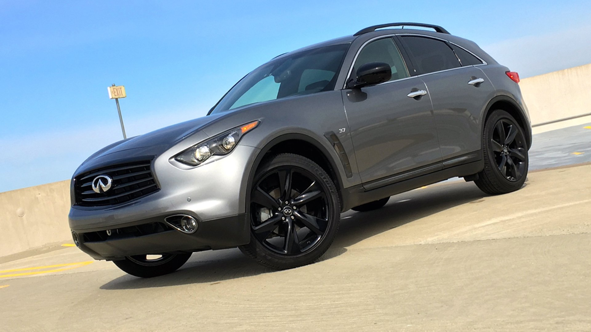 New 2019 Infiniti QX70 Wallpaper HD Desktop