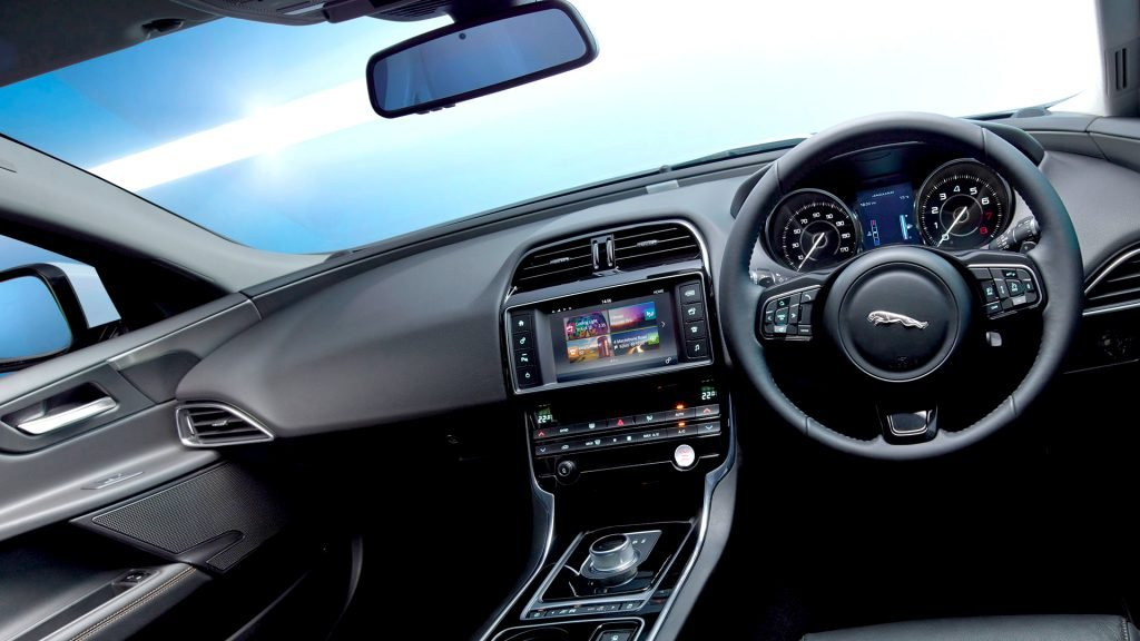New 2019 Jaguar XE Interior Design
