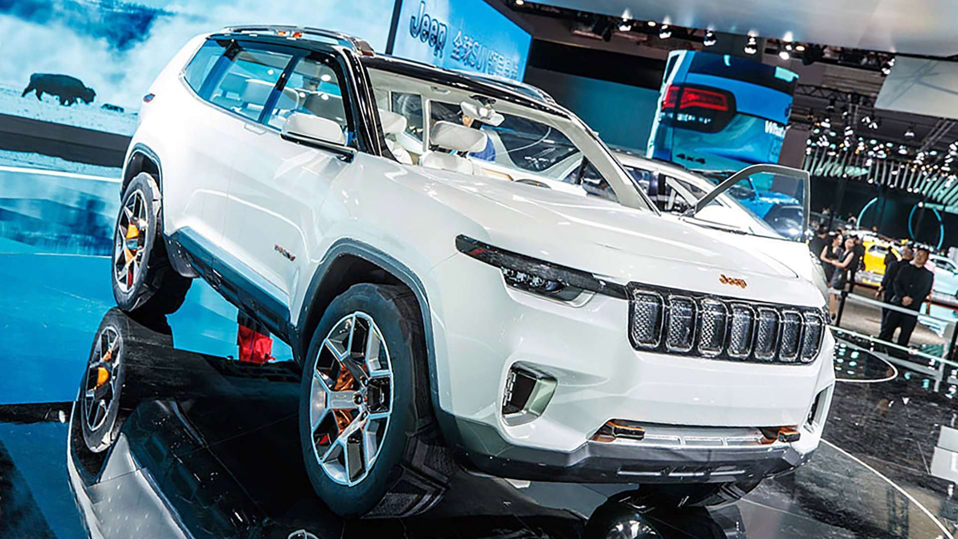 New 2019 Jeep Yuntu First Pictures