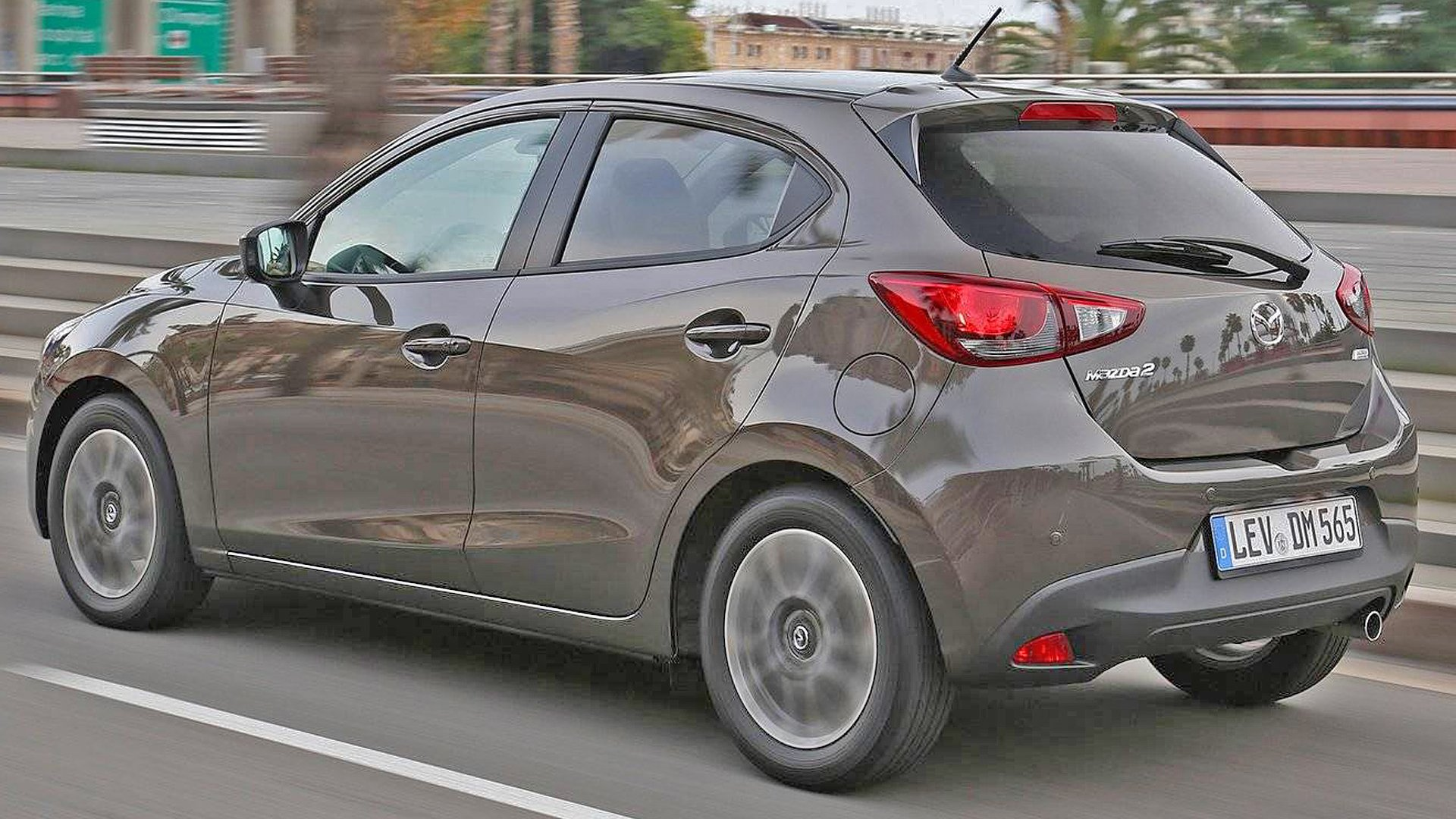 New 2019 Mazda 2 Test Drive On Road