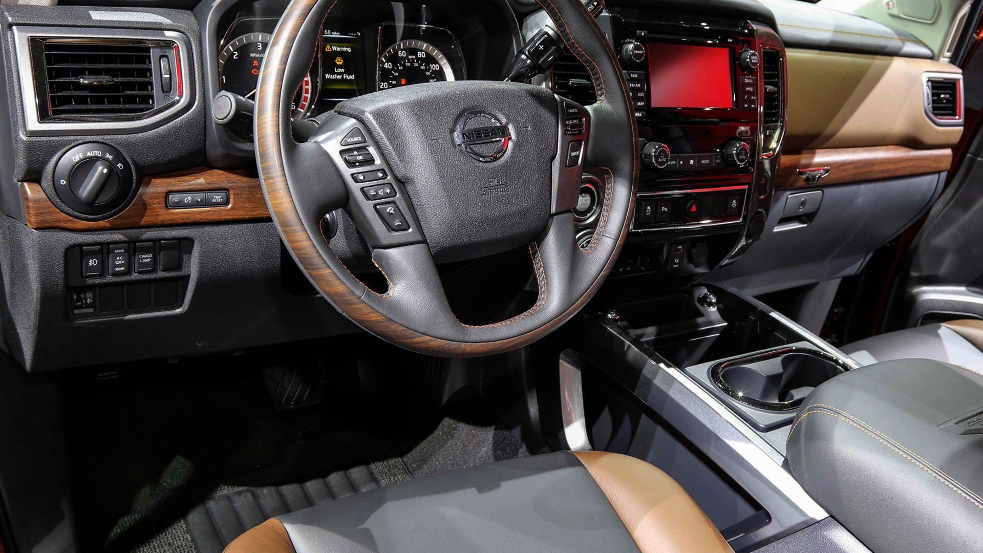 New 2019 Nissan Armada Interior Design