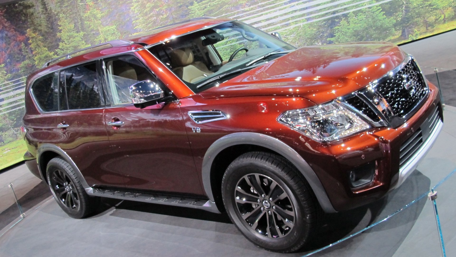 2019 Nissan Armada Restyling Modified HD