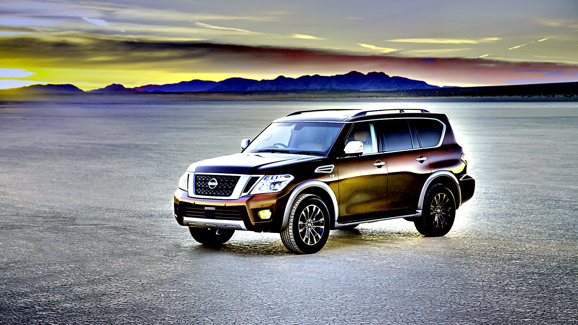 New 2019 Nissan Armada Wallpaper HD Desktop