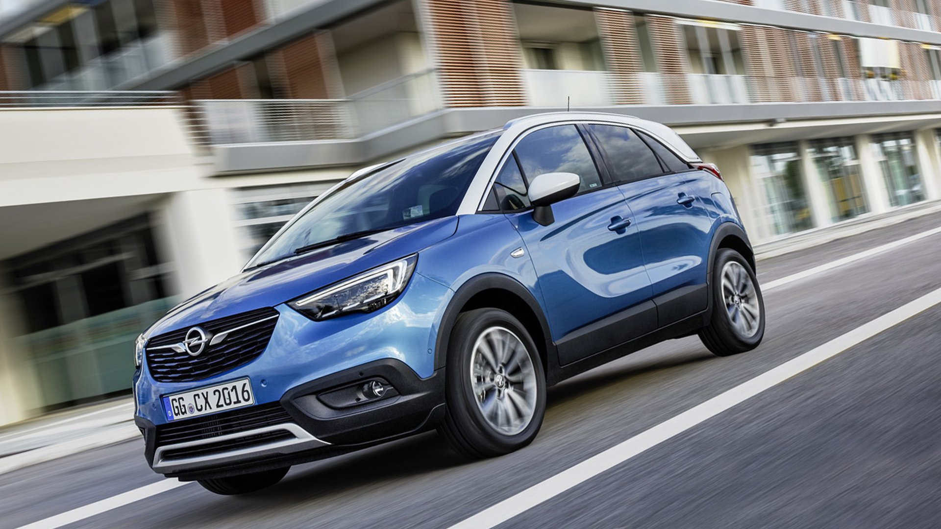 New 2019 Opel Crossland X Wallpaper HD Desktop