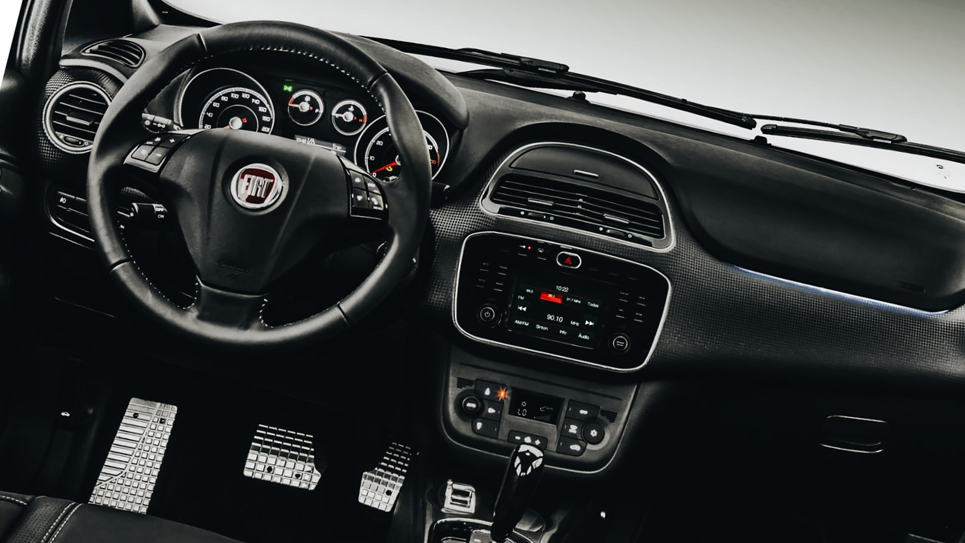 Dashboard Fiat Toro 2019 HD