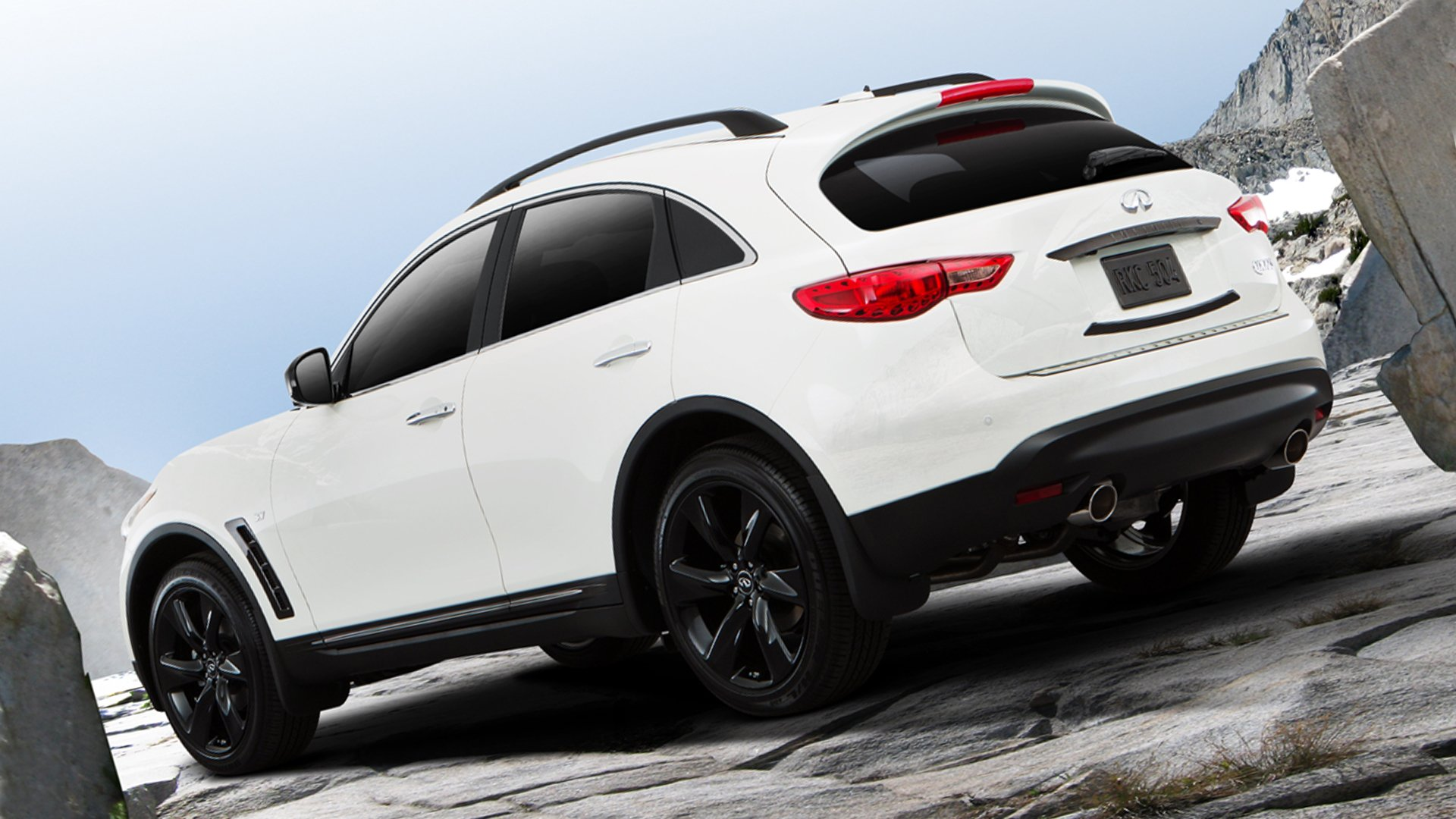 Infiniti QX70 2018 White HD