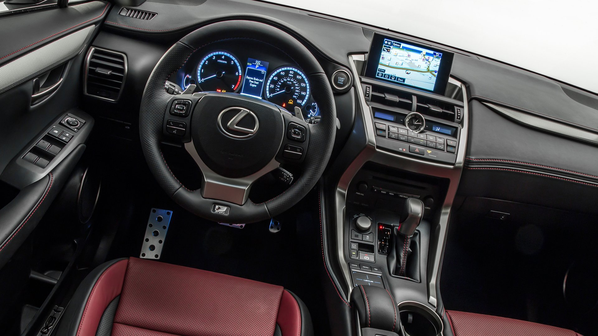 Interior Design Lexus NX 200 HD