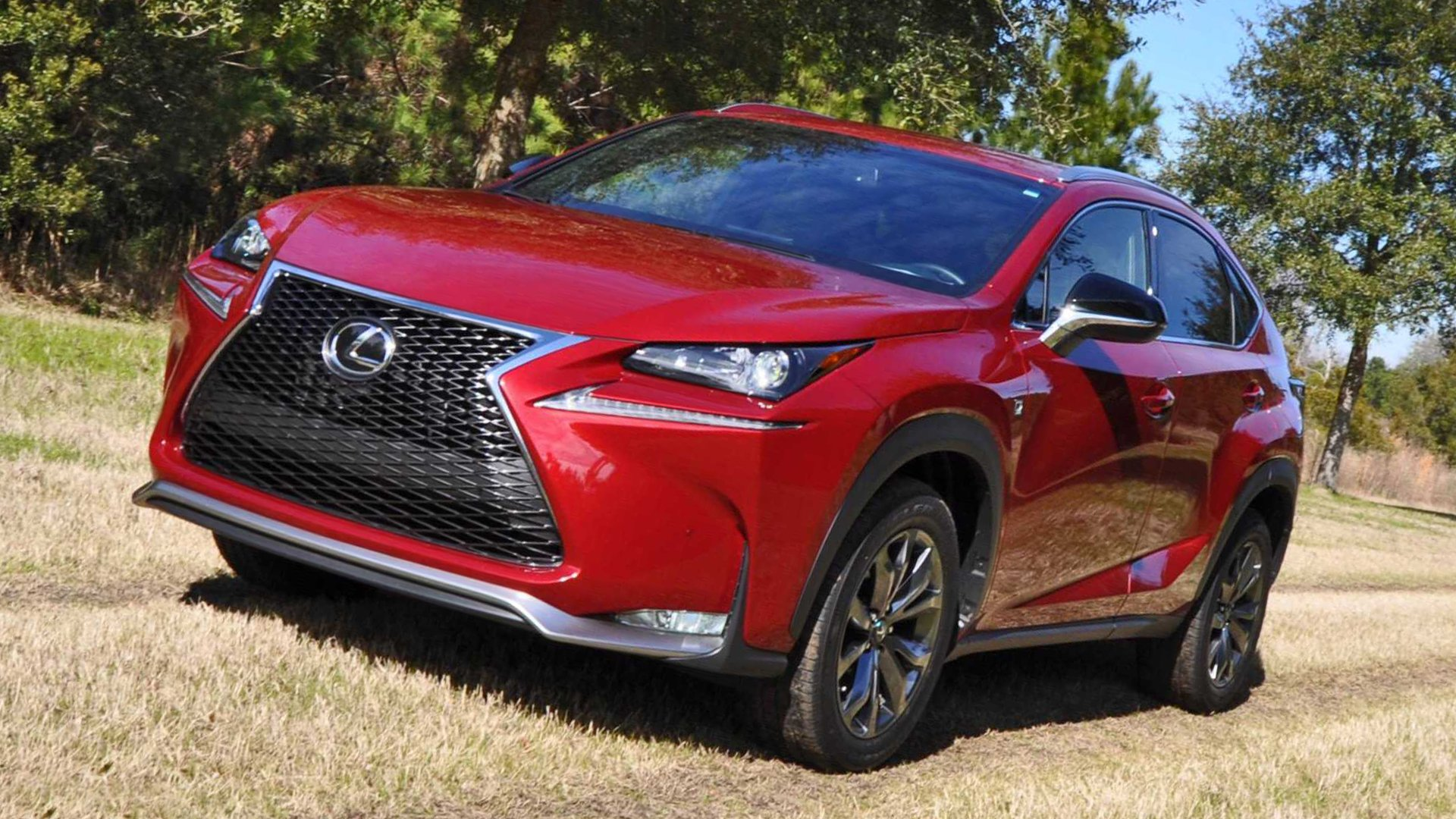 Lexus NX 200 2018 Front View HD