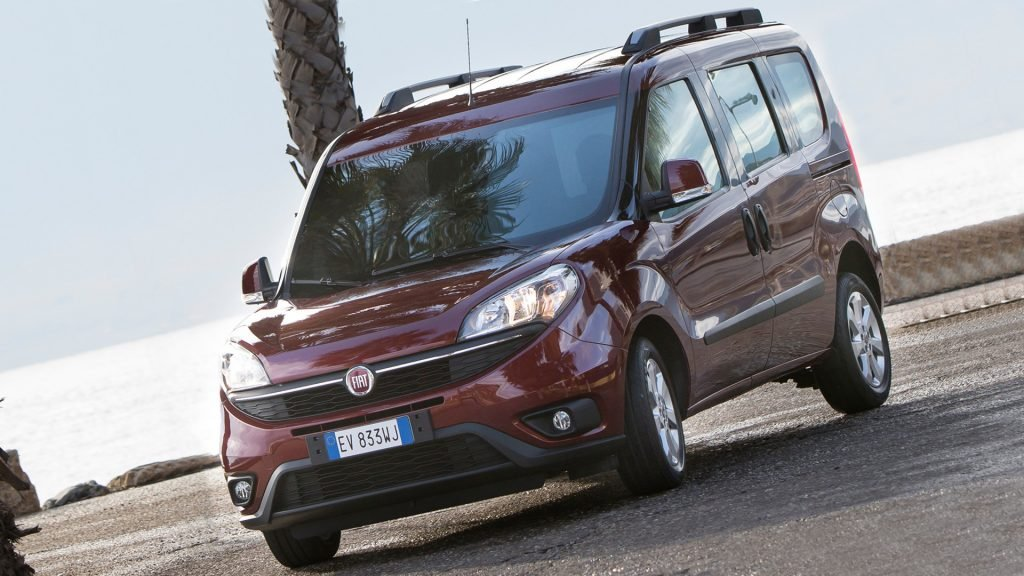 New 2018 Fiat Doblo Front View HD