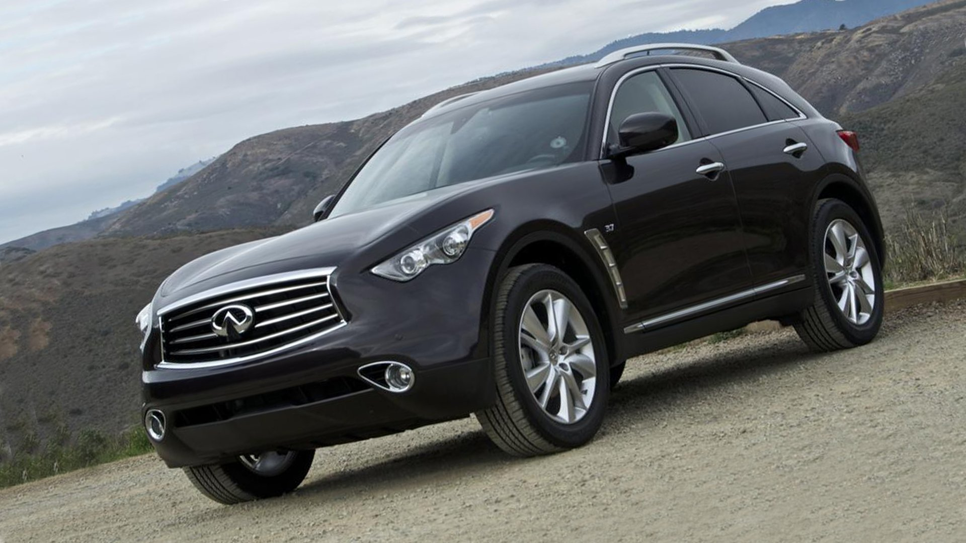 New Infiniti QX70 Prototype Specs HD