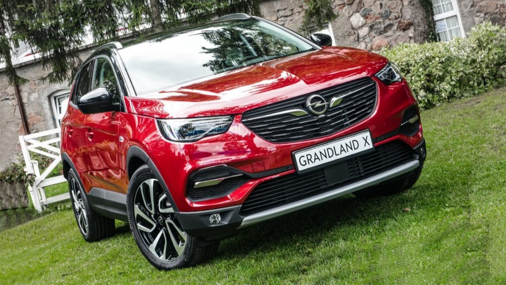 New Opel Grandland X Model Pictures HD