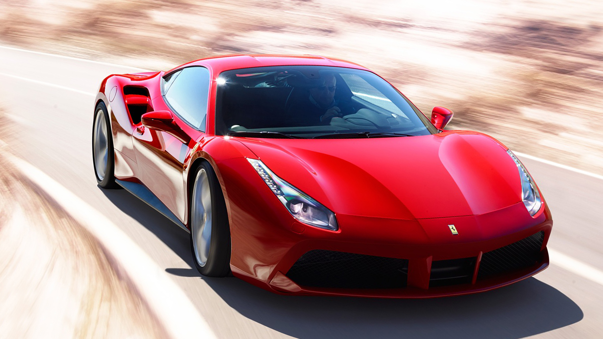 Wallpaper Andriod iPhone New 2019 Ferrari 488 GTB HD